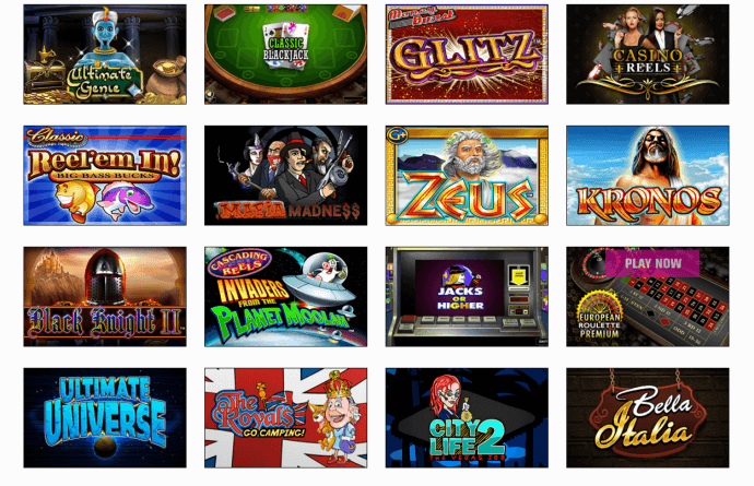 harrahs casino games