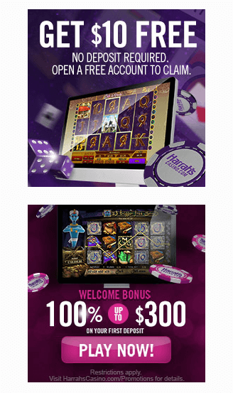 Harrah's Bonus Offers