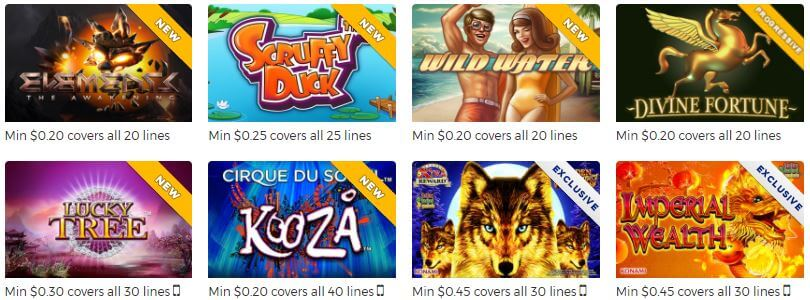 Sugarhouse Casino Slots Games