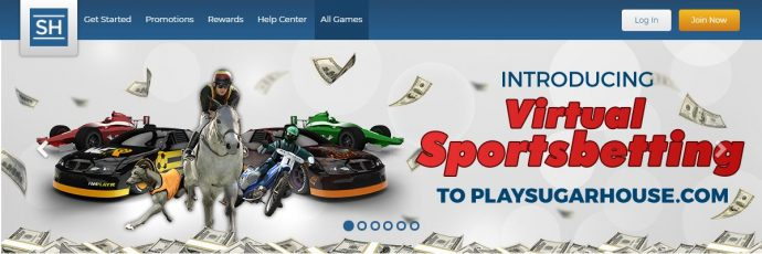 Sugarhouse Virtual Sportsbetting Online NJ